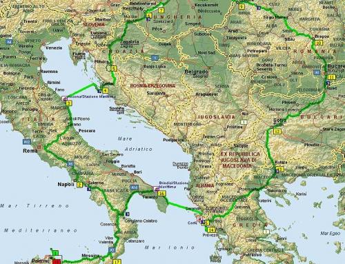 L'est attraverso Croazia Ungheria Romania Bulgaria e Grecia !