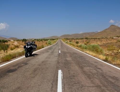 Andalusia in moto con la famiglia? Perchè no! Live!!!